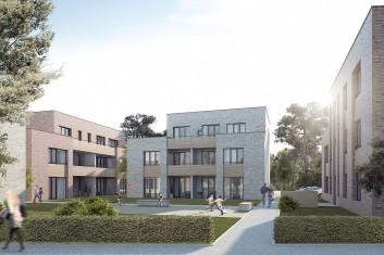 Bebauung von drei Grundstücken in Westerland Sylt