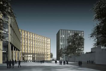 Bürokomplex Andreas-Hermes-Platz Hannover