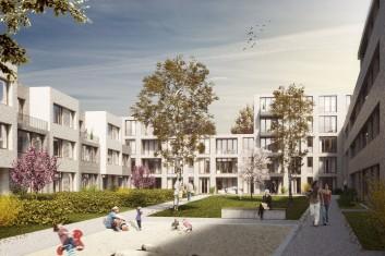 3. Preis Städtebaulicher Ideenwettbewerb Feldstraße Braunschweig