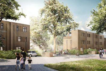 """1. Preis Bauträgerauswahlverfahren """"Wohnen im Frederikspark"""" Norderstedt-Friedrichsgabe – Baufeld 2"""