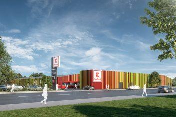 Fassadensanierung Kaufland Hannover-Hainholz